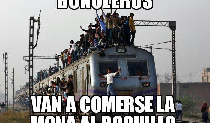 """Los """"memes"""" sobre el incidente con el tren en """"El Roquillo"""""""