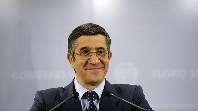 El candidato a las primarias del PSOE Patxi López este sábado en Cheste