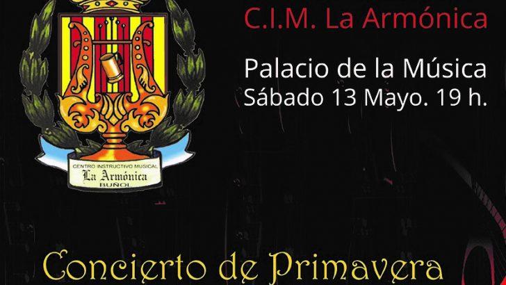 """La Banda Sinfónica de """"La Armónica"""" de Buñol ofrece su concierto de Primavera este sábado"""
