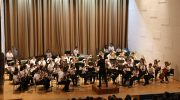 Las imágenes del concierto benéfico a favor de la AECC en el Palacio de la Música de Buñol