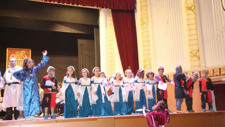 El Proyecto Corchea transporta a la Edad Media a los escolares de Buñol y Yátova