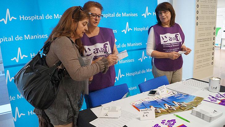 Manises acoge una mesa para informar sobre Fibromialgia