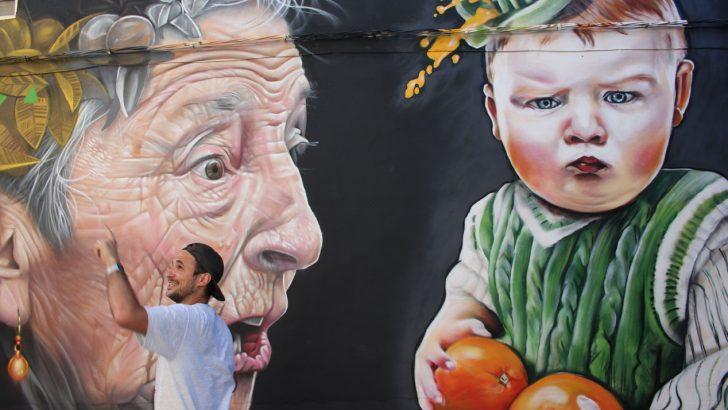 Graffitea convierte a Cheste en un gran lienzo urbano