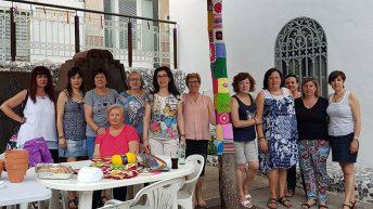 Las imagenes del la Jornada organizada por el Grupo de Ganchillo Solidario de Buñol
