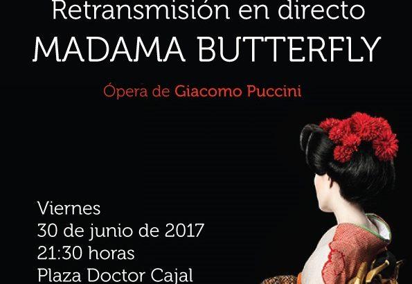 Cheste retrasmitirá 'Madama Butterfly' desde la Plaza Doctor Cajal