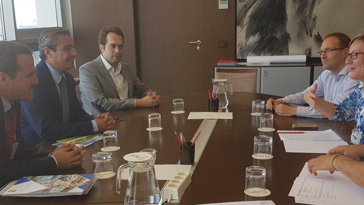 José Morell impulsa la agilización de los trámites para la instalación del centro logístico de Lidl