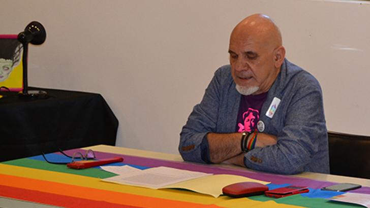 Discurso íntegro de Arnaldo Carrascosa en la inauguración de las jornadas LGTB de Buñol
