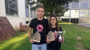 Nieves Carrascosa y Luis Barbancho recogen los trofeos del CTV