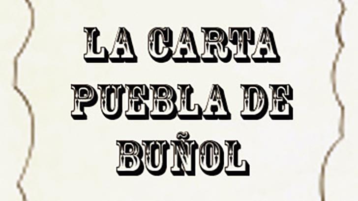 406 años de la Carta Puebla  de Buñol  1611 (30 de julio)