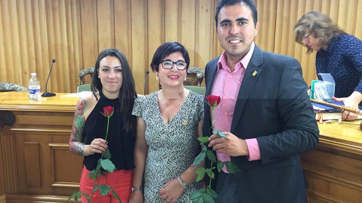 Alcaldesa de Buñol; Juncal Carrascosa.
