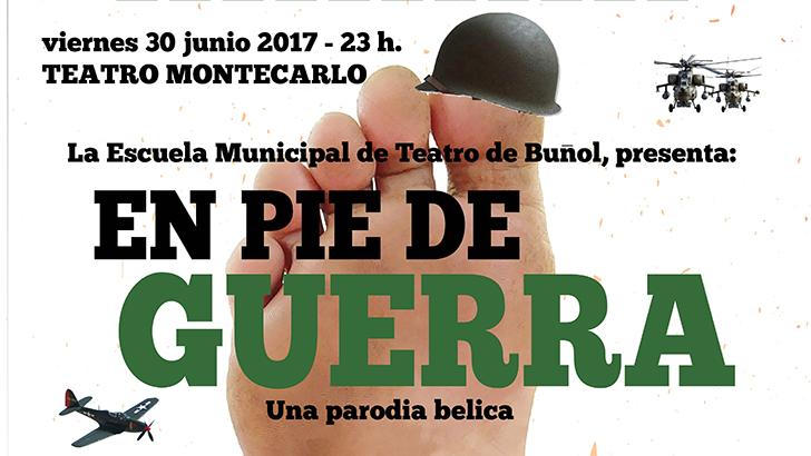 """""""En pie de guerra"""", este viernes a las 23 h. en Teatro Montecarlo"""