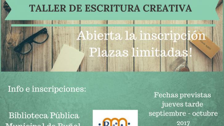 La Biblioteca Municipal abre las inscripciones del Taller de Escritura Creativa