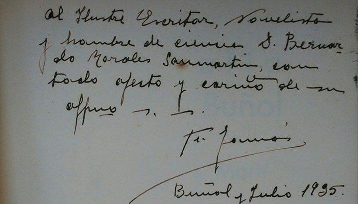 La Biblioteca adquiere la primera edición de la topografía médica de Buñol firmada por Facundo Tomás