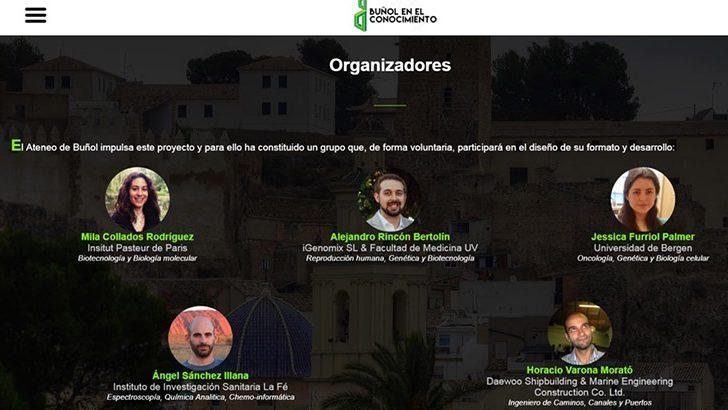 """Mañana arranca el programa """"Buñol en el conocimiento"""" en el IES la Hoya."""