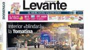 Rafa Pérez, molesto con el titular del diario Levante