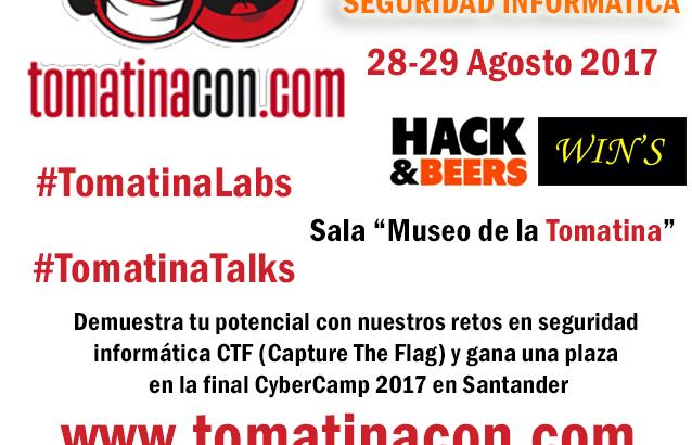 Llegan las III Jornadas de seguridad informática TomatinaCON a Buñol