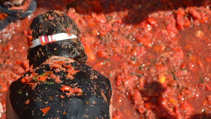 La Tomatina Infantil, en imágenes