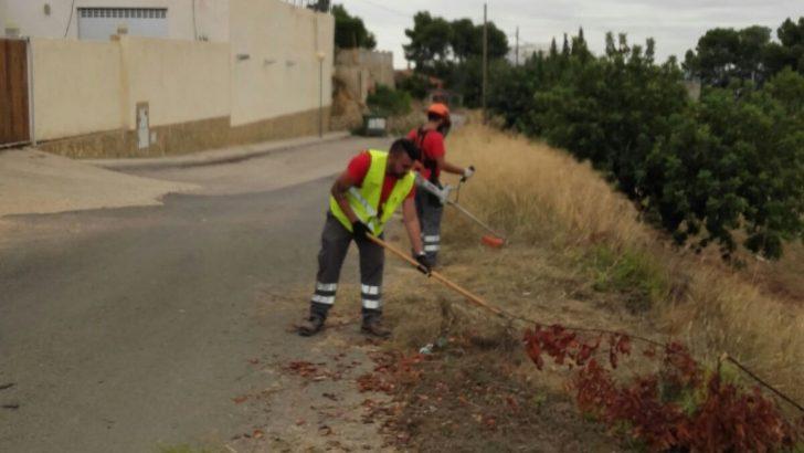Los alumnos del programa T'avalem Natura trabajan en Las Pedrizas y en Vistalegre