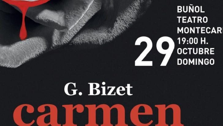 """La ópera """"Carmen"""" el próximo 29 de octubre en el Teatro Montecarlo de Buñol"""