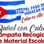 La Concejalía de Solidaridad y Cooperación de Buñol lanza una campaña en ayuda a Cuba tras el paso del Huracán Irma