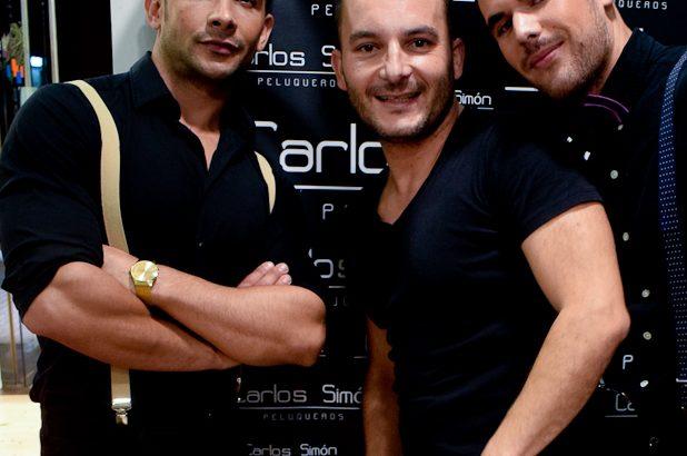 Las imágenes de la fiesta y pase de modelos en Carlos Simón Peluqueros