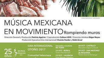 """Música mexicana en movimiento"" este domingo en Alborache"