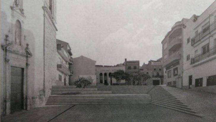 Yátova expone al público su propuesta de renovación de la Plaza de la Constitución