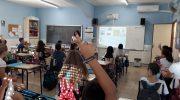 La unidad de prevención de conductas adictivas de Chiva trabaja con los escolares