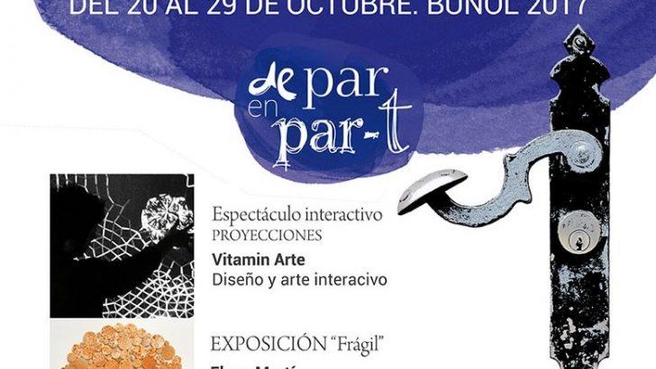 """La programación de la Bienal de Artes y del Festival """"De Par en Part"""" en Buñol"""
