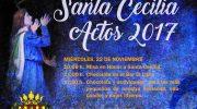 """El programa de actos de Santa Cecilia de """"La Armónica"""" de Buñol"""