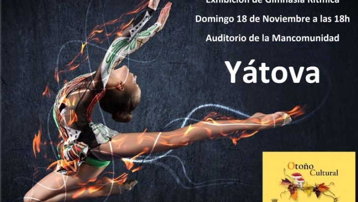 El Auditorio de la Mancomunidad de Yátova acoge este domingo una exhibición de Gimnasia Rítmica