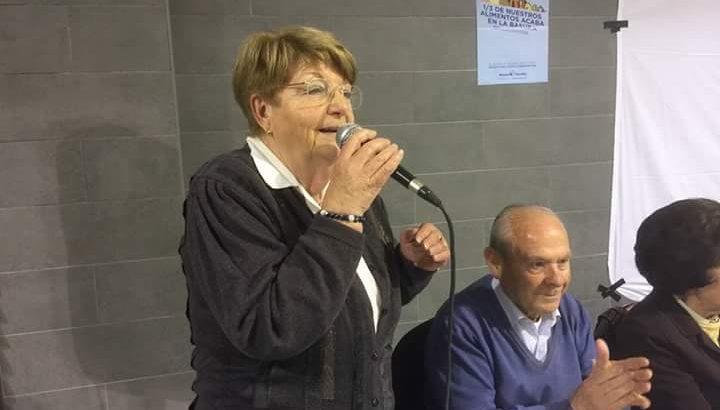 Carmen Hernández deja de ser delegada de Manos Unidas en Buñol