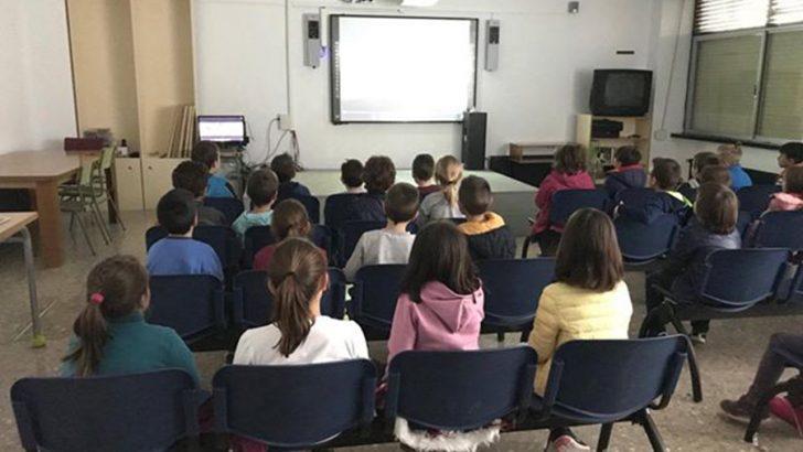El CEIP Cervantes de Buñol inicia un proyecto de cine en el cole