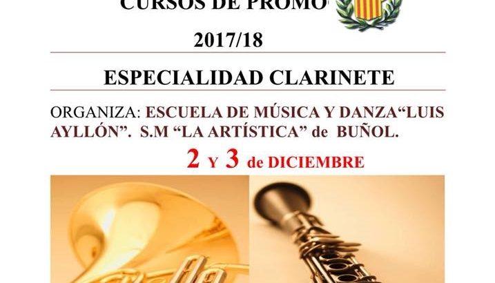 """""""La Artística"""" de Buñol lanza un curso de clarinete"""