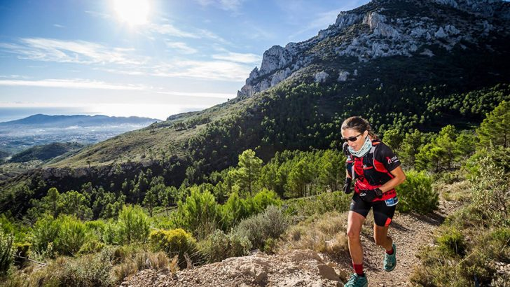 Nieves Carrascosa, ganadora del 40K Costa Blanca Trails