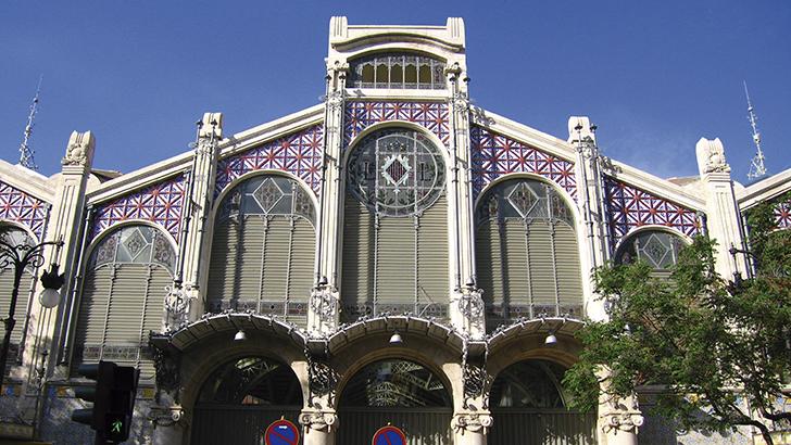 Piedra  de Buñol  para el  Mercado  Central  de Valencia