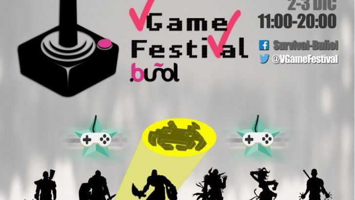 La primera edición de la Vídeo Game Party llega a Buñol en diciembre