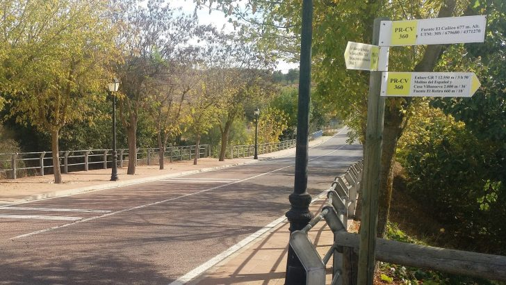 Una vía ciclopeatonal conectará el casco urbano de Siete Aguas con su estación de tren