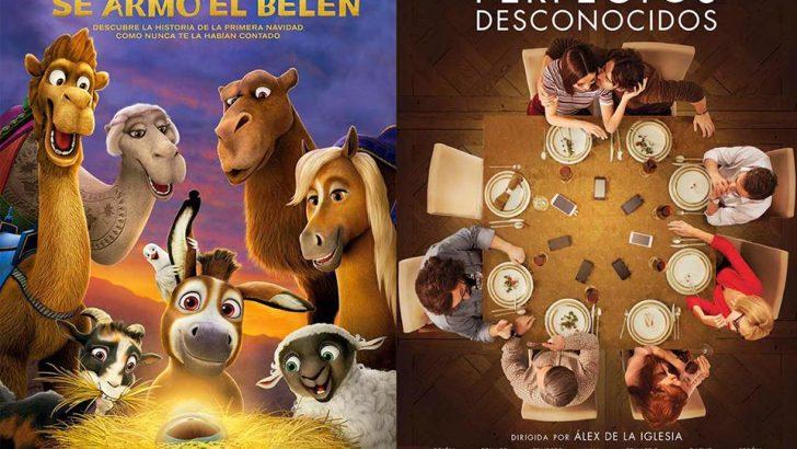 """""""Se armó el Belén"""" y """"Perfectos desconocidos"""" en Cine Palacio"""