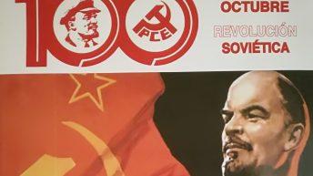 El PC de Buñol celebra el centenario de la Revolución Rusa