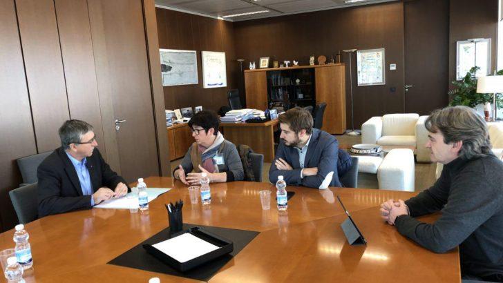 El Equipo de Gobierno de Buñol se reúne con el Conseller de Economía Sostenible, Sectores Productivos, Comercio y Trabajo