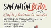 """Buñol celebra este domingo la festividad de """"San Antón"""""""