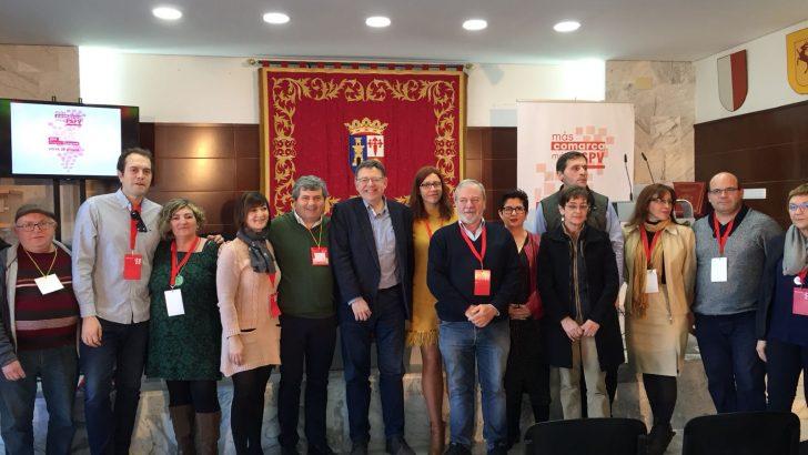 Ximo Puig encabeza en Alborache el Congreso Comarcal del PSPV