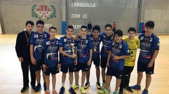 """El Infantil """"A"""" del Club Balonmano Buñol acaba tercero en el play-off de categoría Preferente"""