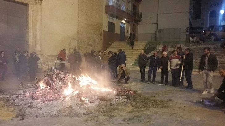 Las imágenes de la festividad de San Antón en Yátova