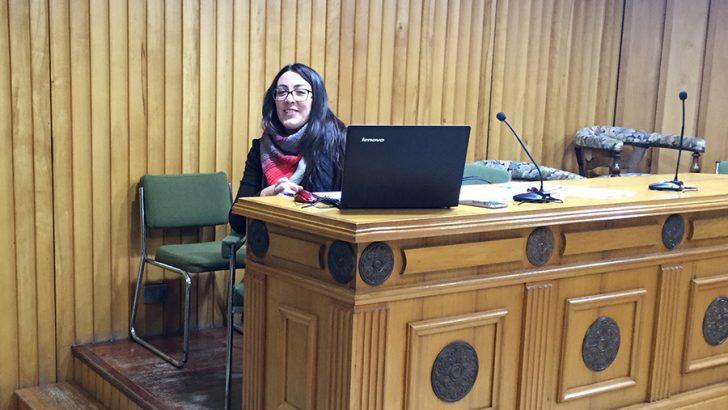 La informatización de El Planell, prioridad para Marta Pérez y el Consejo de Deportes