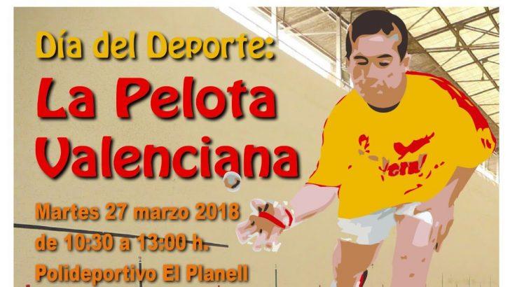 """""""Fageca"""" y """"El Zurdo"""" participarán en una jornada de """"pilota valenciana"""" con los tres colegios de Buñol"""