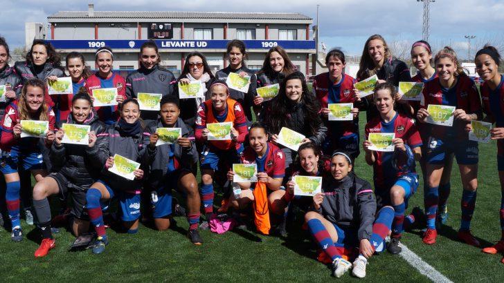 El Levante UD femenino se suma a la Run Cáncer de Buñol