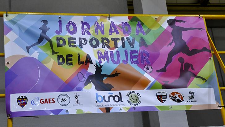 Nuevo éxito de la Jornada Deportiva de la Mujer en Buñol