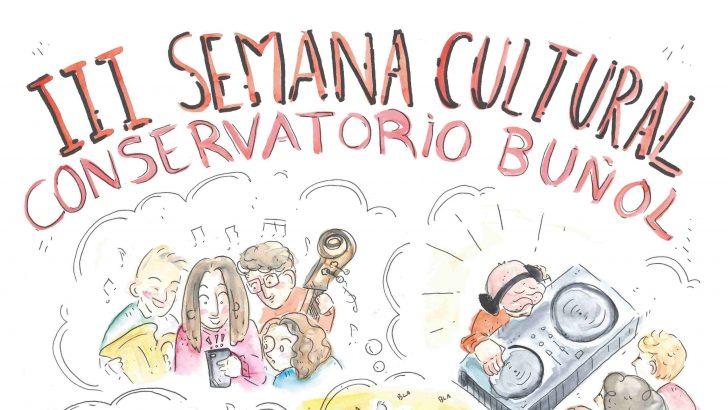 El Conservatorio de Música de Buñol prepara su III Semana Cultural